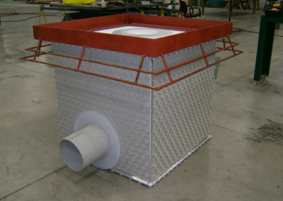 Acroline Concrete Protective Liner Sump with Steel Grating Support