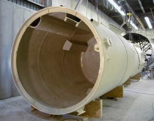 PVDF Dual Laminate Tank