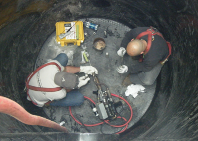 HDPE Welding in Confined Entry Space