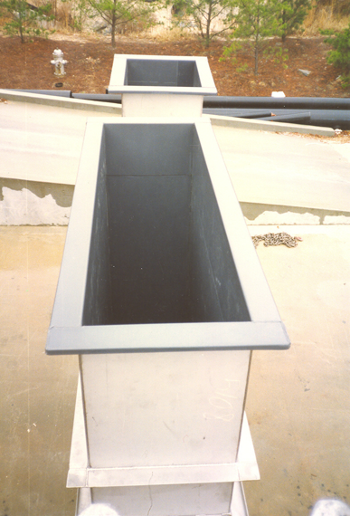 Stainless Steel Plating Tanks Lined with PVC
