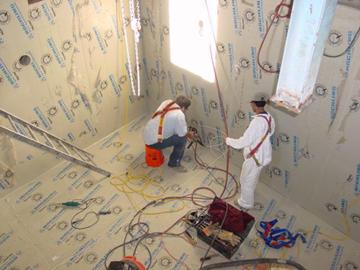 Concrete Protective Lining System Retrofit
