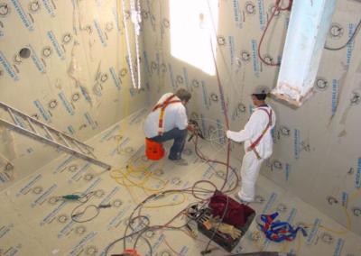 Extrusion Welding Concrete Protective Liner