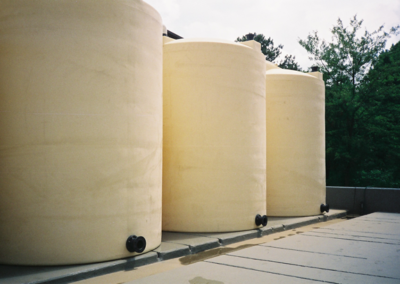 Stormwater Retention Tanks for Lead-Acid Battery Manufacturer